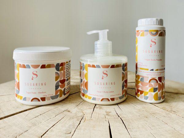 Home sugaring kit by Sugaring Lonodon